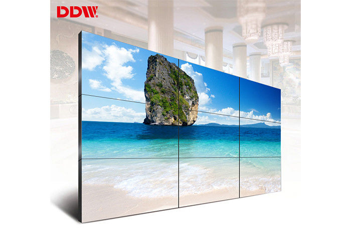 9 Screen Video Wall Equipment / HD Security Multiple Tv Video Wall
